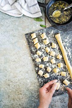 Perunagnocchit   K-Ruoka #pasta Pasta, Koti, My Cookbook, Vegan Foods, Gnocchi, Pasta Recipes, Pasta Dishes