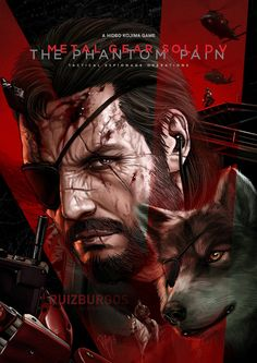 METAL GEAR SOLID V: THE PHANTOM PAIN by RUIZBURGOS....................!!!!  .