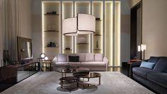 10 Luxury Design Brands Which Will Be Attending Salone del Mobile 2017 Contemporary Interior Design, Contemporary Furniture, Cool Furniture, Furniture Design, Luxury Furniture Brands, Milan Design, Top Interior Designers, Luxury Living, Fendi