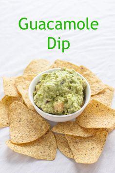 Homemade Guacamole Dip `