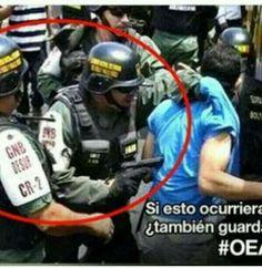 Tumblr/ Venezuelan civil society & high school and university students wage war against communism!