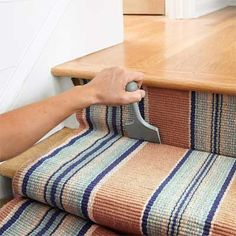flat weave runner stairs - Google Search
