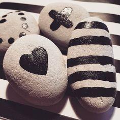 """""""#steine #kamienie #dekosteine #handbemalt #love #reczniemalowane #deko #decor #dekor #home"""""""