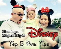 Great Tips for Visiting the Parks at Disney World #WDW #Disney