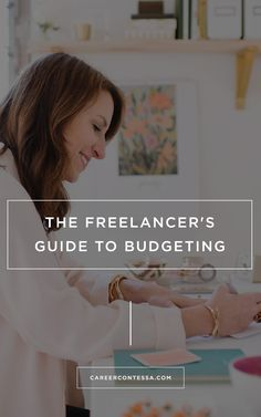 Fear of finances keeping you from working for yourself? One freelancer shares how she manages her budget with a variable income. | By: Khaleelah Jones | www.careercontessa.com