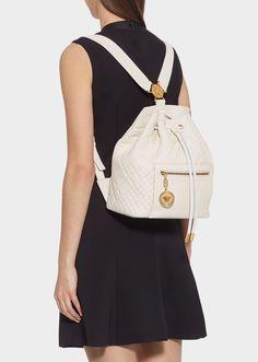 5e69ebde0883 Medusa Quilted Backpack for Women