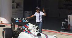 Blog Esportivo do Suíço:  Williams de Felipe Massa terá pintura especial para o GP do Brasil de F1