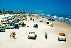 Daytona Beach, Florida, late-1950s @historyepic