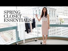Fashion Closet Essentials Part 13 Spring Edition Work Wardrobe, Capsule Wardrobe, Choice Clothes, Closet Essentials, Work Wear, Spring Fashion, What To Wear, Fashion Looks, Outfits