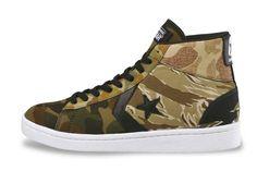 #Converse XL Pro-Leather Multicamo Hi #sneakers