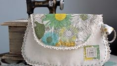The Liberty Vintage Clutch - Free Pattern and Tutorial