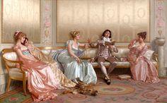 Vittorio Reggianini, итальянский художник (1858-1938)      Арзамасские библиотеки