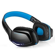 KOTION EACH B3506 V41 Bluetooth Gaming Headset Wireless Headphones with Microphone for iPhone Android Computer and PS4 >>> More info could be found at the image url.Note:It is affiliate link to Amazon.