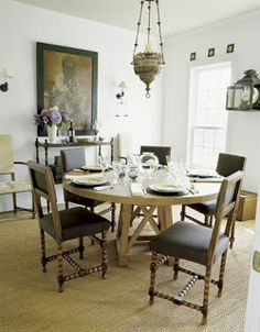 Mississippi Sisters The Weekend Home Of Victoria Hagan Round DiningDining TablesHamptons