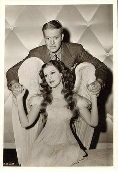 JEANETTE MacDONALD NELSON EDDY vintage 1942 ORIGINAL CANDID HOLLYWOOD MGM Photo