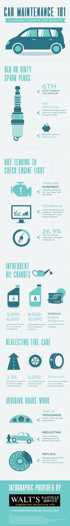 Cars with conventional oil should get oil changes every 3,000-6,000 miles. Those with synthetic oil need oil changes every 8,000-10,000 miles. Regular