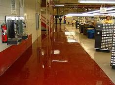 Manufacturing organization high gloss epoxy from RyanCo Protective Coatings
