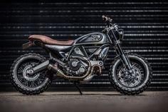 Ducati Scrambler Icon Exhaust by Competition Werkes. Ducati Scrambler - fendereliminators
