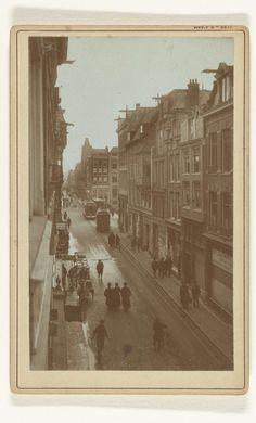 Vijzelstraat te Amsterdam, Gebr. van R., 1880 - 1900