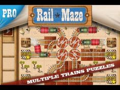 Rail Maze is the latest game by Spooky House Studios - creators of big hits: Bubble Explode and Pumpkin Explode.   ♥ Thanks for watching ♥ Subcribe - http://www.youtube.com/subscription_center?add_user=iGameplay1337  for more gameplay review of games on  Mac, iPhone, iPad, iPod Touch.    Solve 100+ of challenging and unique puzzles, build railroads...