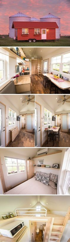 """""""The Most Beautiful Tiny House in the World"""" Forbes   Size: 29L' x 8.5'Wx 9'6""""H, up to 315Sq.ft.   Very cute Tiny Home     Check It Out!..."""