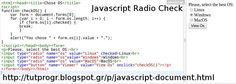 #Javascript #Rqadio #Programming #Code #Picture : http://tutprogr.blogspot.gr/p/javascript-document.html https://plus.google.com/u/0/b/110179768197910025766/110179768197910025766/posts