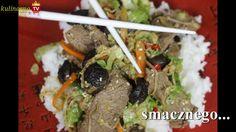 Wołowina z Grzybami Shitake - przepis video. Bardzo smaczna potrawa kuchni chińskiej
