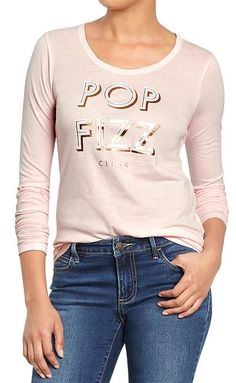 Pop Fizz Clink graphic tee -  $6 with code:  SAVEMORE http://rstyle.me/~3mIG3