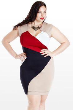 Winning Streak Colorblock Dress
