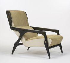 gio ponti, lounge Chair