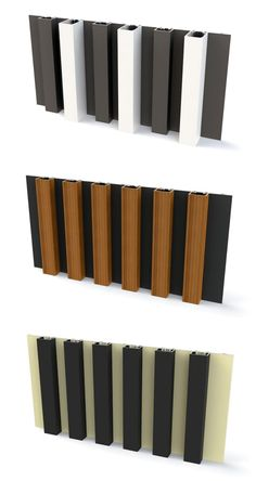 Wist je dat we bij de aluminium gevelbekleding van mato de profielen en de achterkant van de profielen in een andere kleur kunnen lakken? Speel met kleur en creëer oogverblindende realisaties!