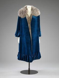 Evening coat 1924-1926