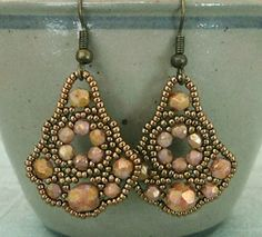 Linda's Crafty Inspirations: Belle of the Ball Earrings
