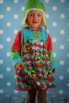 "fynory: ""Kuschelkleid"" von Erbsenprinzessin Sari, Christmas Sweaters, Fashion, Princess, Fabrics, Sewing Patterns, Kleding, Kids, Repurpose"