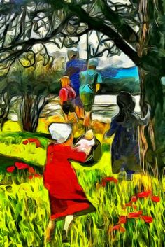 Amish Girls - Dynamic Auto Painter Pro 4.