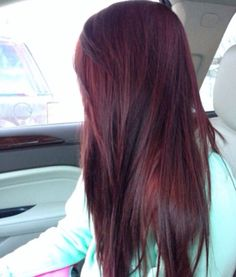 Tinted red hair. #LOVE