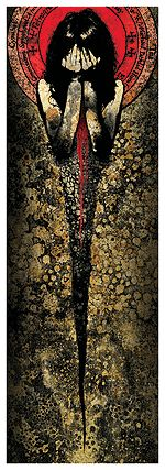 Artwork by Jacob Bannon from Converge.