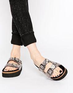 6d65d9238b4ed7 ASOS FUTURISTIC Flatform Sandals Vegan Shoes