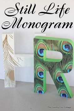 Anthro Monogram Knoc