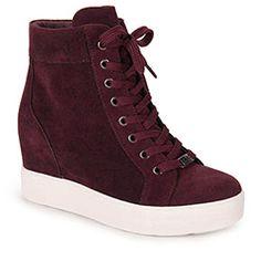 Tênis Sneaker Feminino Quiz - Vinho