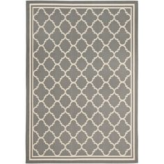 Andover Mills Welby Anthracite & Beige Indoor/Outdoor Area Rug & Reviews | Wayfair