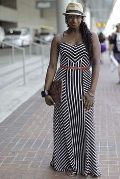 Locs. Dress. Essence Festival.