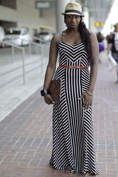 Locs. Dress. Essence Festival.