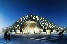 CITY DEVELOPMENT HYLLIE MALMÖ-City center development, shopping, office and culture