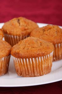 Carrot Mini Muffins... with whole wheat flour!