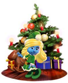 Faça da Smurfette seu presente de Natal.