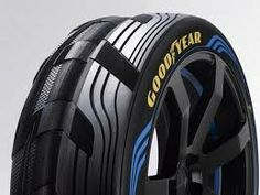 Goodyear bring a concept tyre to the Geneva Motor Show. Custom Wheels, Custom Cars, Golden State Warriors Championships, Tyre Brands, Tire Tread, Flying Boat, Car Gadgets, Geneva Motor Show, New Tyres