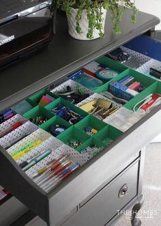 Paper Box Drawer Divider|DIY Drawer Dividers,see more at: http://diyready.com/diy-drawer-dividers/