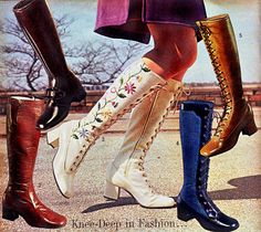 Boots in the J.C. Penneys catalog, fall/winter 1971
