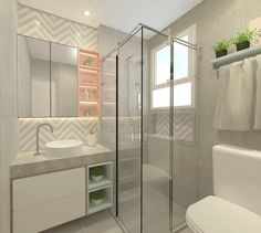 Tiles Ideas for Small Bathroom Modern Boho Bathroom, Minimal Bathroom, Bathroom Design Small, Bathroom Layout, Modern Room, Bathroom Interior, Master Bathroom, Bathroom Ideas, Zen Bathroom
